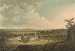 A View on Hampstead Heath, looking towards London.